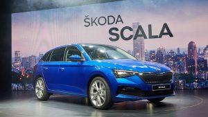 Škoda Scala jako policejní auto na britských ostrovech!