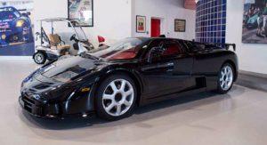 Bájné Bugatti EB110 SuperSport se dočká pocty